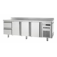 Bäckereikühltisch Premium 3/2 mit Aufkantung