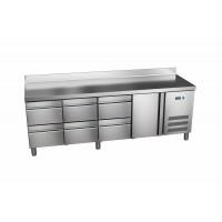 Kühltisch ProLine 600 1/6 mit Aufkantung