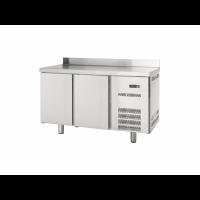 Table réfrigérée Profi 600 2/0 avec dosseret