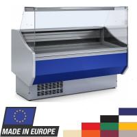 Kühltheke Profi 150 - eckiges Frontglas