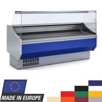 Kühltheke Profi 200 - eckiges Frontglas