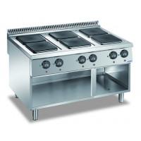 Elektroherd Dexion Lux 980 - 120/90 quadratische Kochfelder