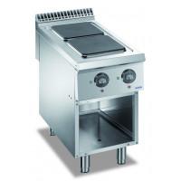 Fourneau électrique - Dexion Lux 980 - 40/90 plaques de cuisson carrées