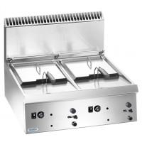 Friteuse à gaz série Dexion Lux 700 – 70/73 9+9 litres – à poser