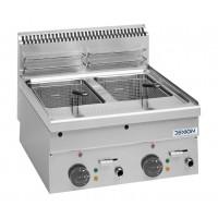 Elektro-Fritteuse Dexion Serie 66 - 60/60 8+8 Liter Tischgerät