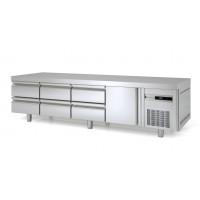 Unterbaukühltisch Premium 1/6 | Kühltechnik/Kühltische/Unterbaukühltische