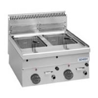 Friteuse à gaz Dexion série 66 – 60/60 8+8 Litres – à poser