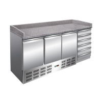 Pizzakühltisch PT 1460 | Kühltechnik/Kühltische/Pizza-Kühltische