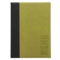 Porte-menu Trendy A5 vert