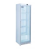 Réfrigérateur blanc ECO 380 à porte vitrée