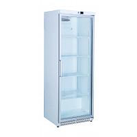 Réfrigérateur blanc à porte vitrée ECO 590