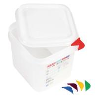 Récipients pour aliments Araven Colour coded GN 1/6, 15 cm