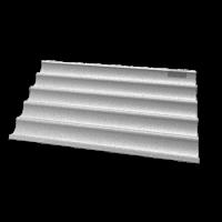 UNOX Backblech Baguette Aluminium | Kochtechnik/Heißluftöfen & Kombidämpfer/Zubehör