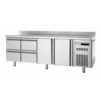 Tiefkühltisch Premium 2/4 mit Aufkantung