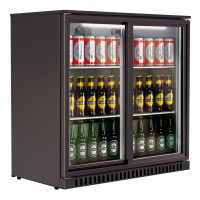 Réfrigérateur bar ECO 208 litres avec portes coulissantes